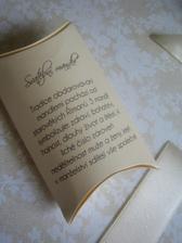 krabička na madle pro hosty, budeme je mít do bravy, ještě nejsou vyrobené :-)