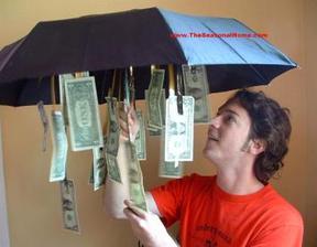 prší:)