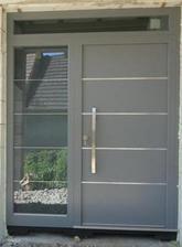 vstupné dvere - moderné, nie ťažkopádne...