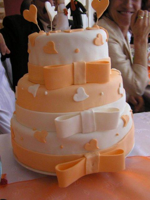 Inšpirácie - nádherná torta
