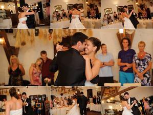 náš první tanec novomanželů :)