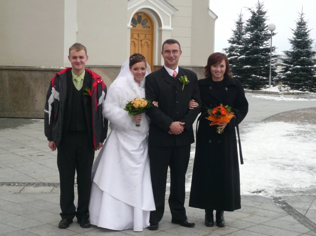 Janka J.{{_AND_}}Radovan M. - nasi druzbovia - bratranec a moja sestra