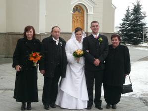 moji rodicia a sestra