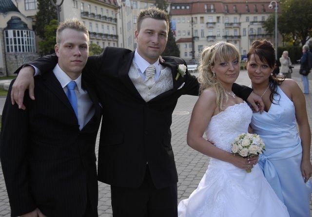 Vanda{{_AND_}}Tomáš - Manzelov brat Marek a moja sestra Zuzka