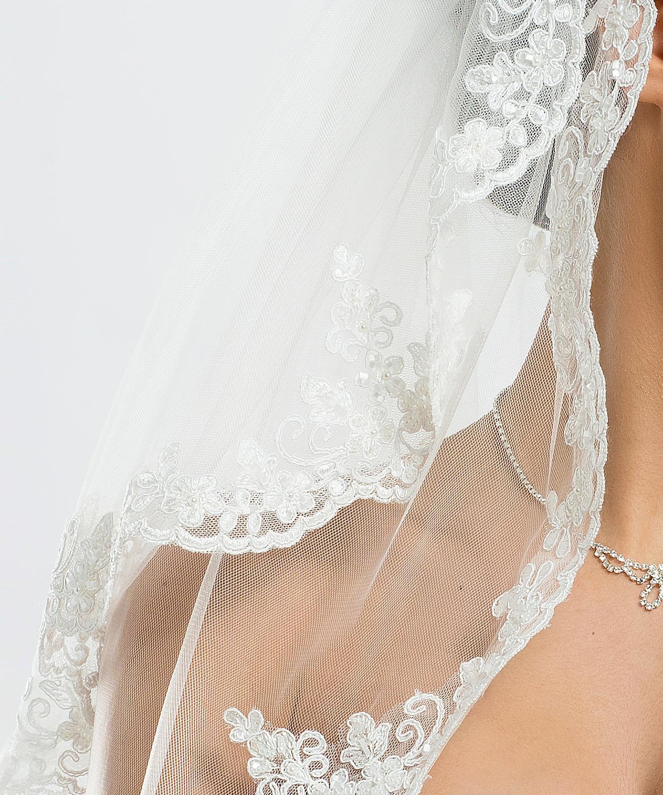 Španielsky svadobný závoj - Obrázok č. 2