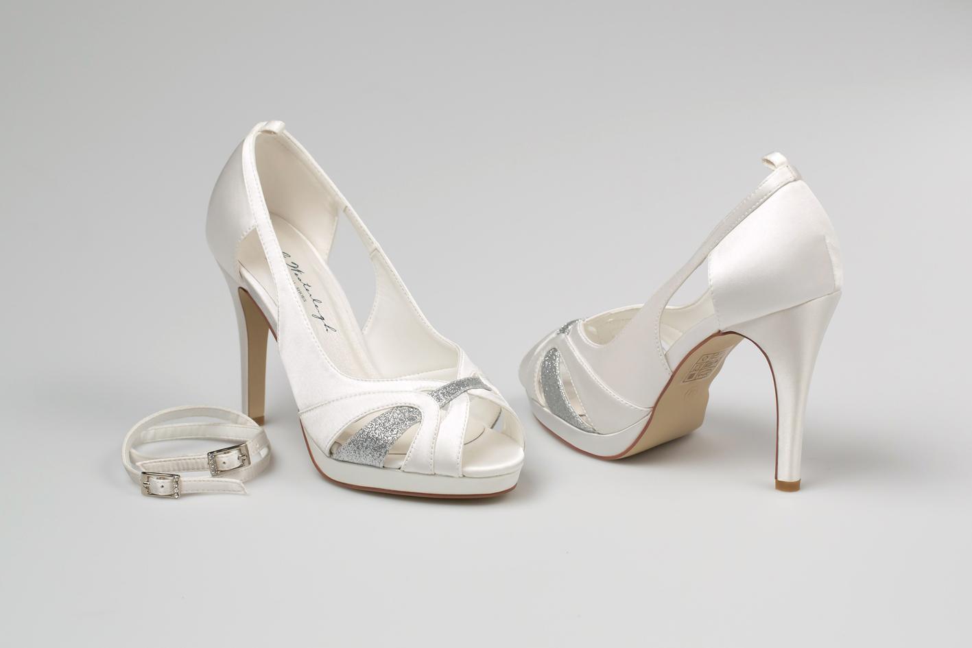 Svadobné topánky Norah - Obrázok č. 4