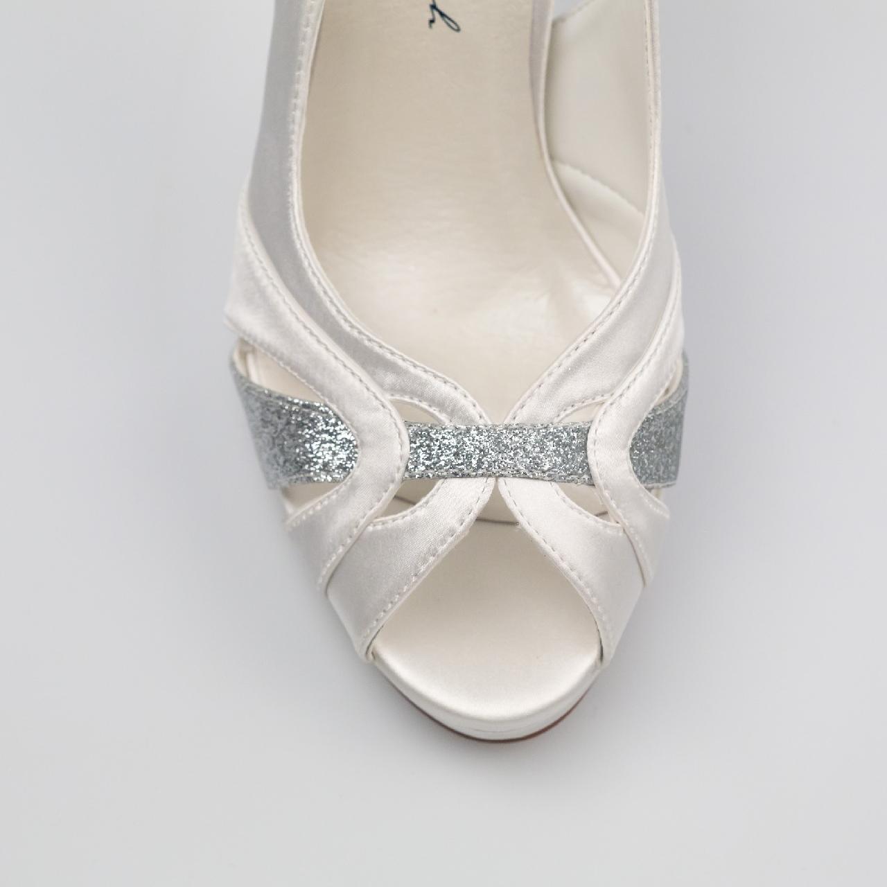 Svadobné topánky Norah - Obrázok č. 2