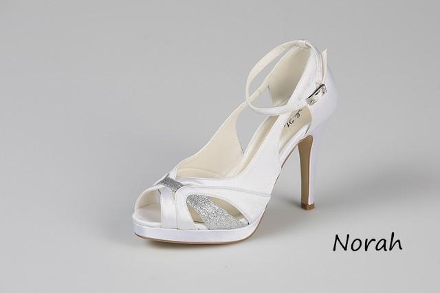 Svadobné topánky Norah - Obrázok č. 1