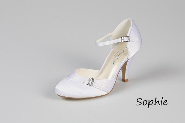 Svadobné topánky Sophie - Obrázok č. 1