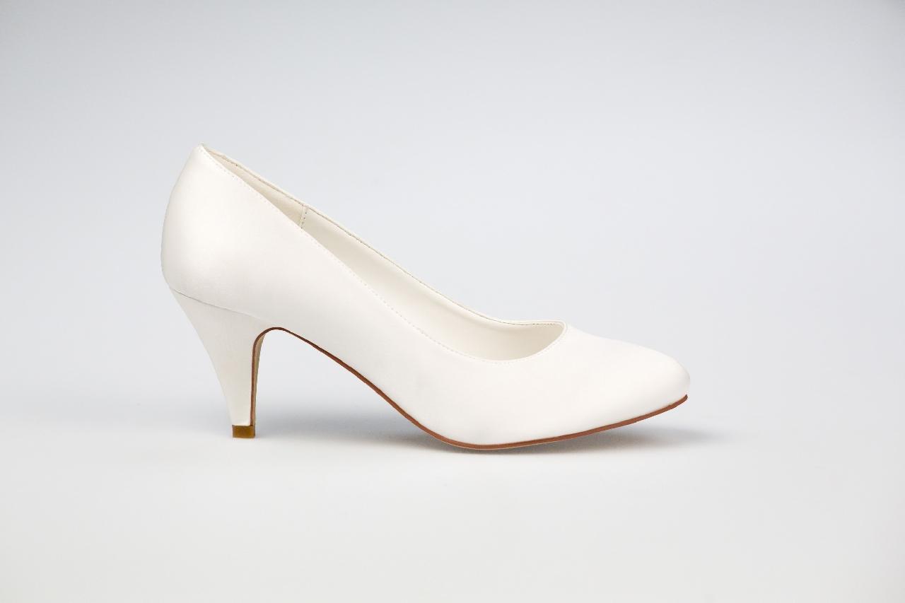 Svadobné topánky Diana - Obrázok č. 2