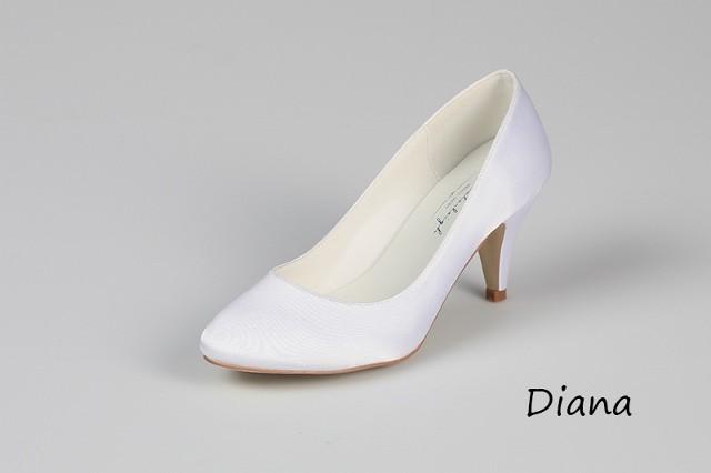 Svadobné topánky Diana - Obrázok č. 1