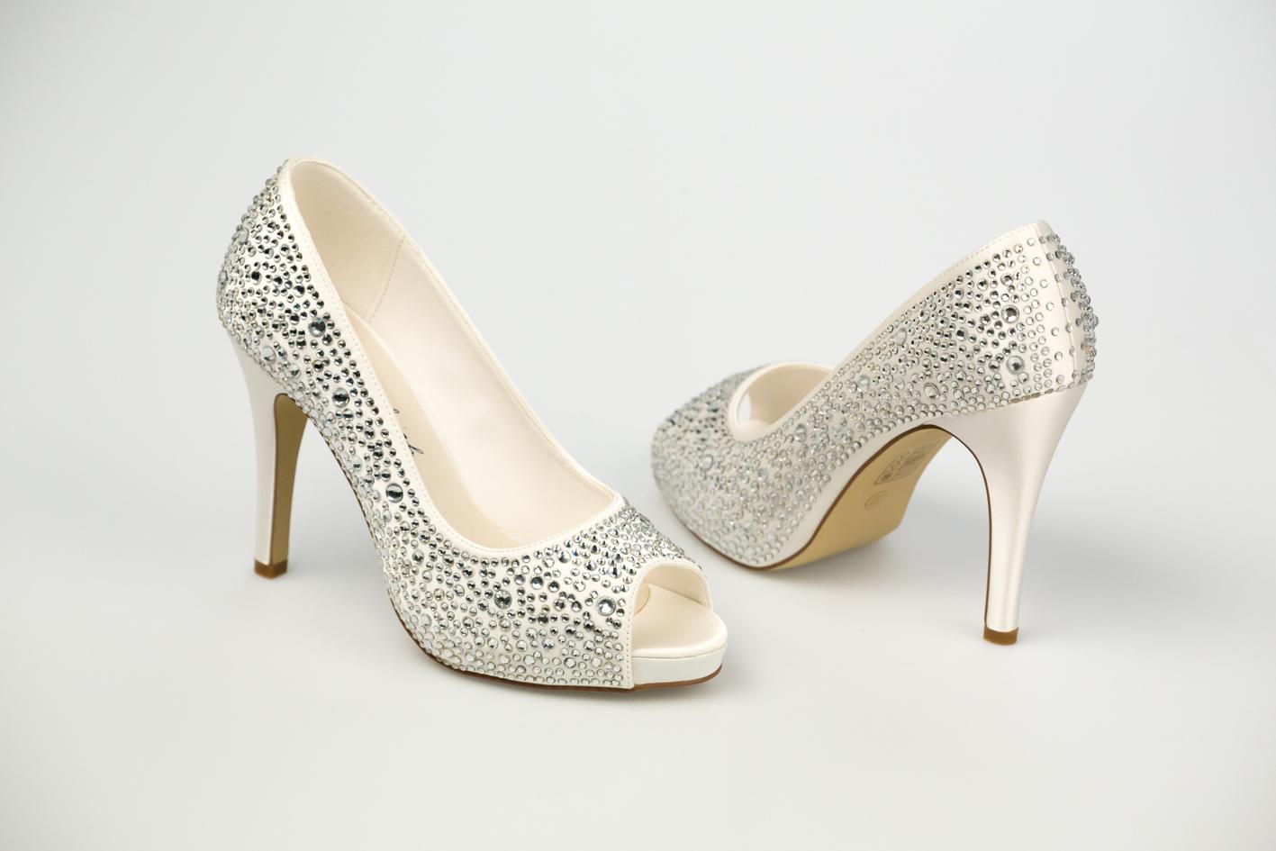 Svadobné topánky Roxanne - Obrázok č. 4