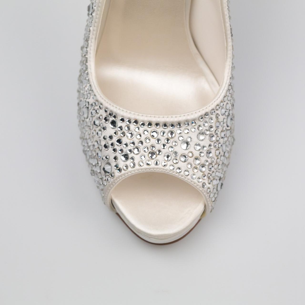 Svadobné topánky Roxanne - Obrázok č. 3
