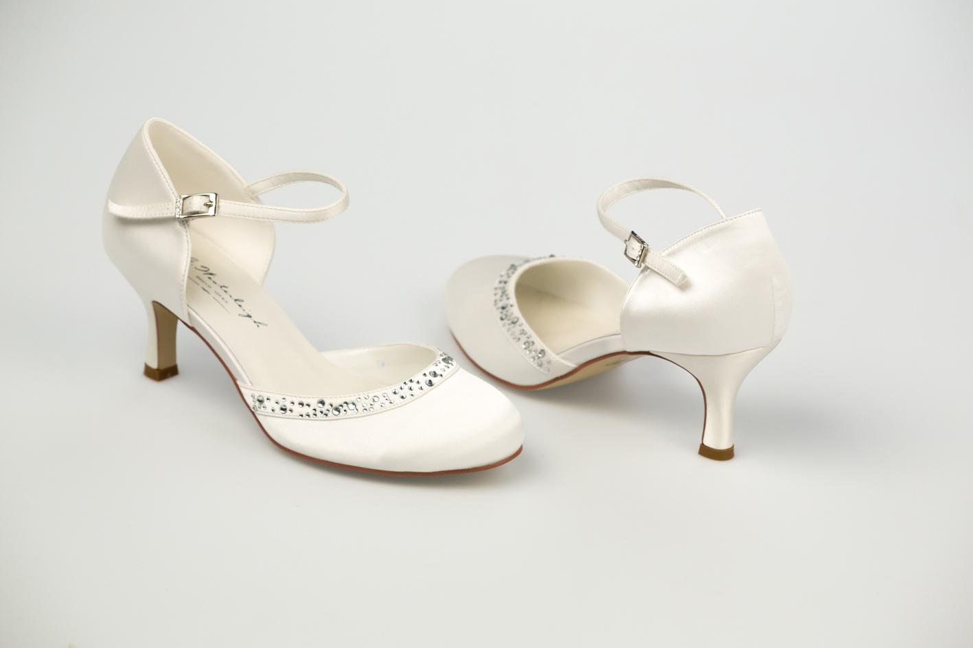 Svadobné topánky Adele - Obrázok č. 3