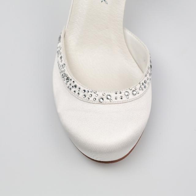 Svadobné topánky Adele - Obrázok č. 2