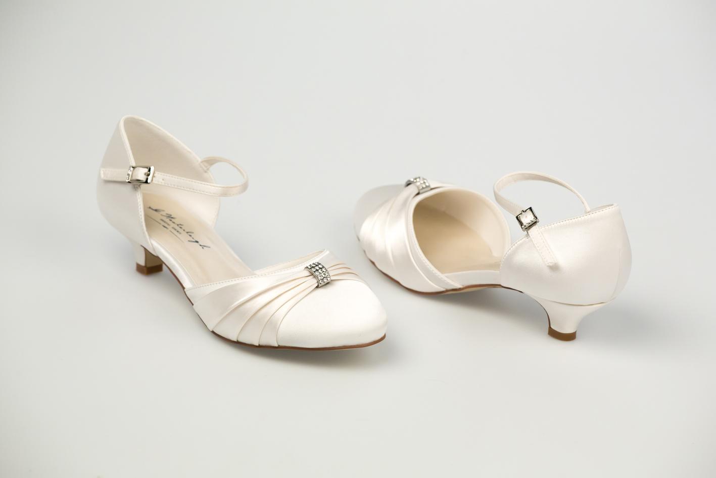 Svadobné topánky Heidi - Obrázok č. 2