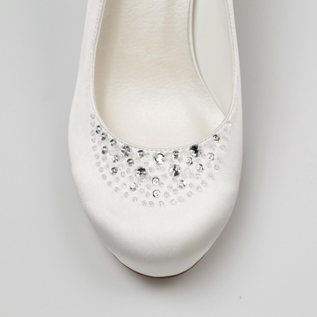 Svadobné topánky Elisa - Obrázok č. 2