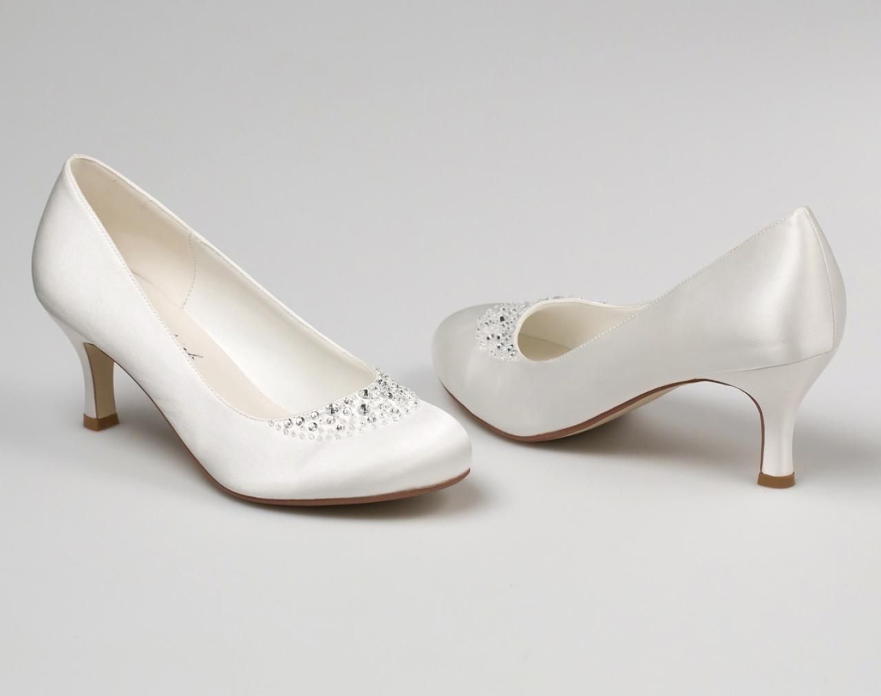 Svadobné topánky Elisa - Obrázok č. 1