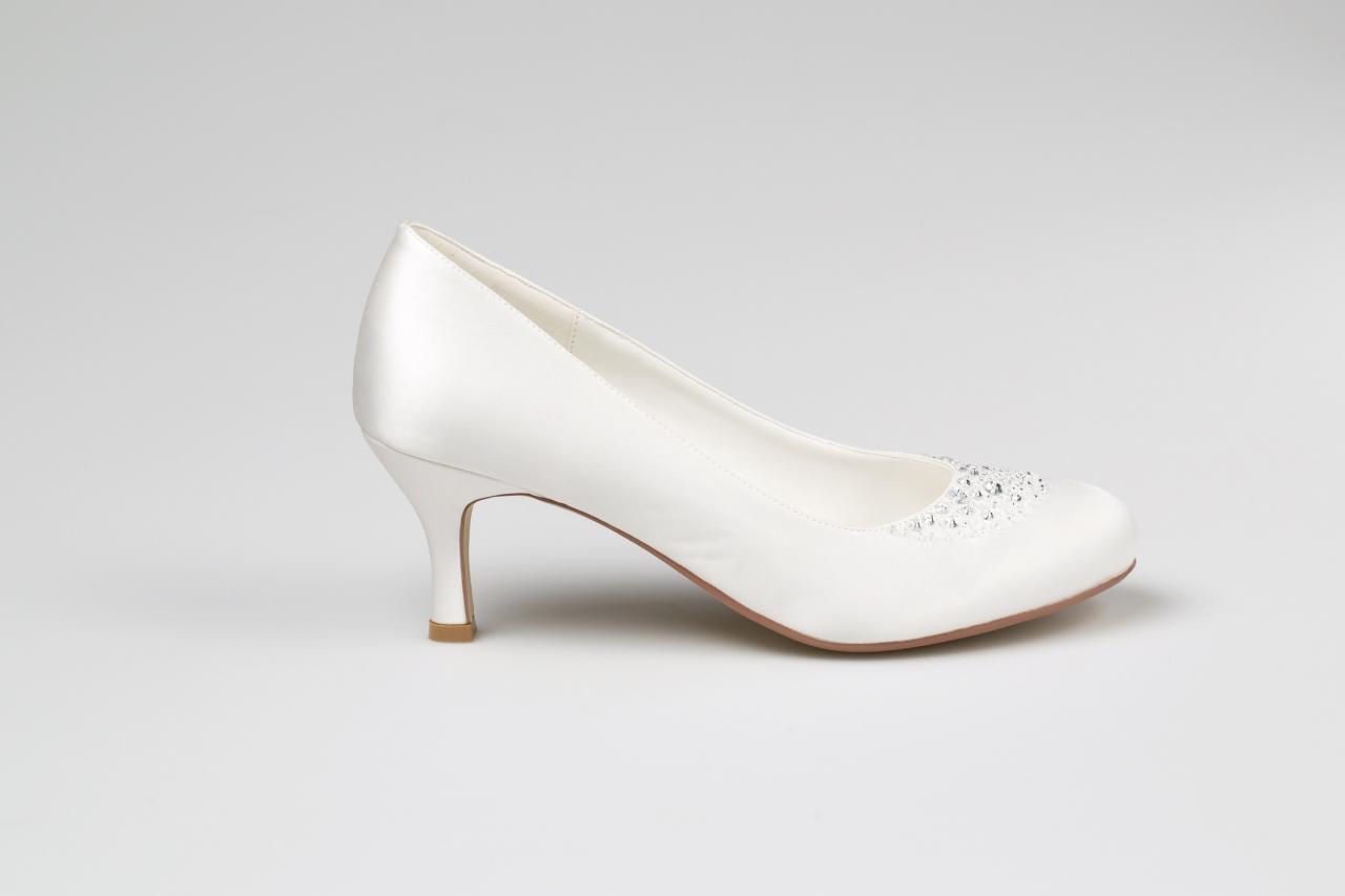 Svadobné topánky Elisa - Obrázok č. 3