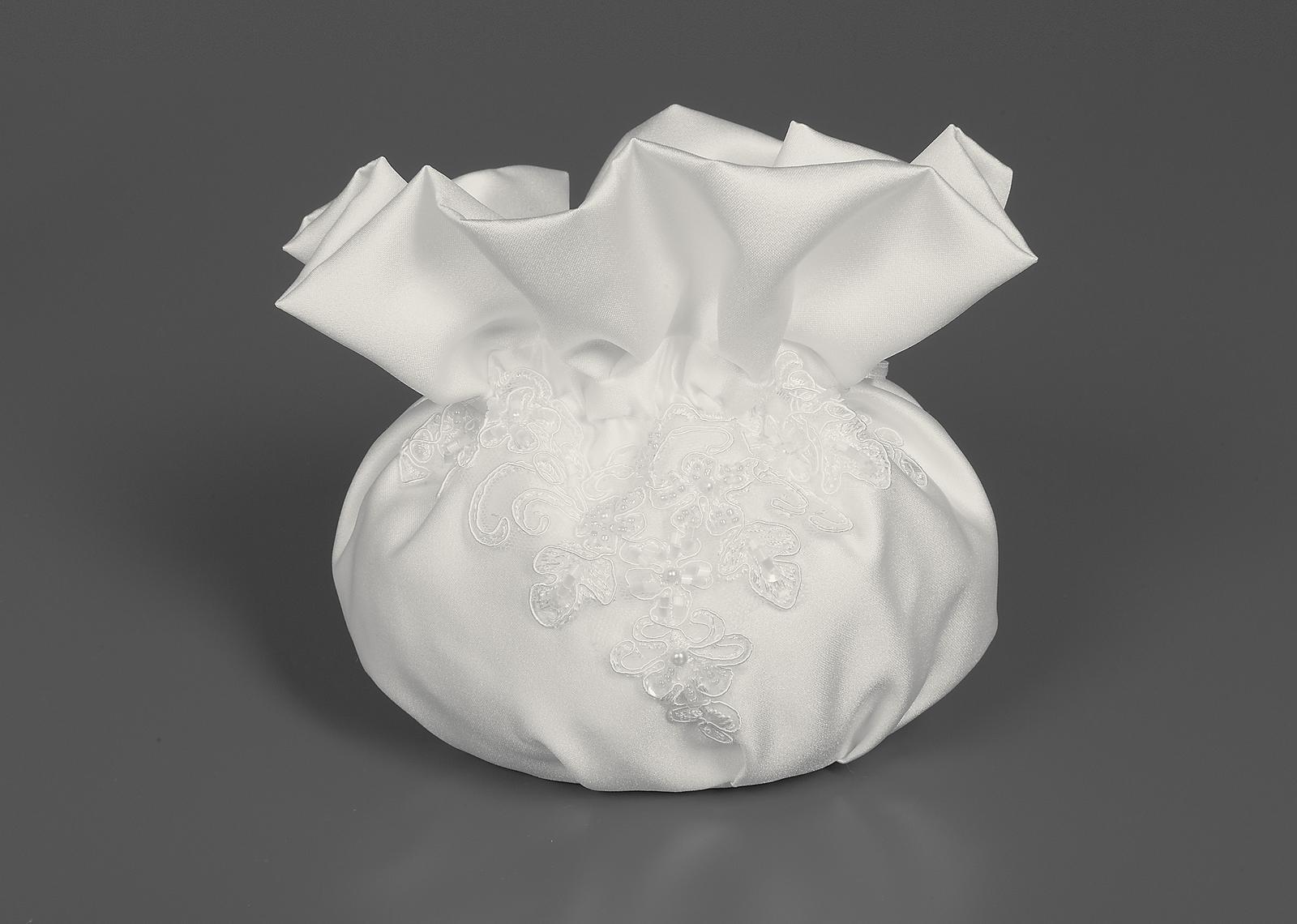Svadobná kabelka s čipkou - Obrázok č. 1