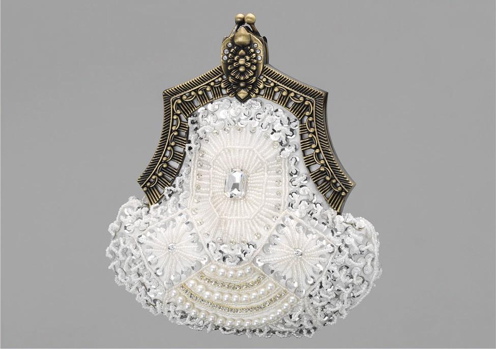 Vintage svadobná kabelka - Obrázok č. 1