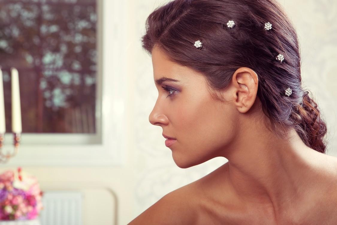 Svadobné špirálky do vlasov - Obrázok č. 2