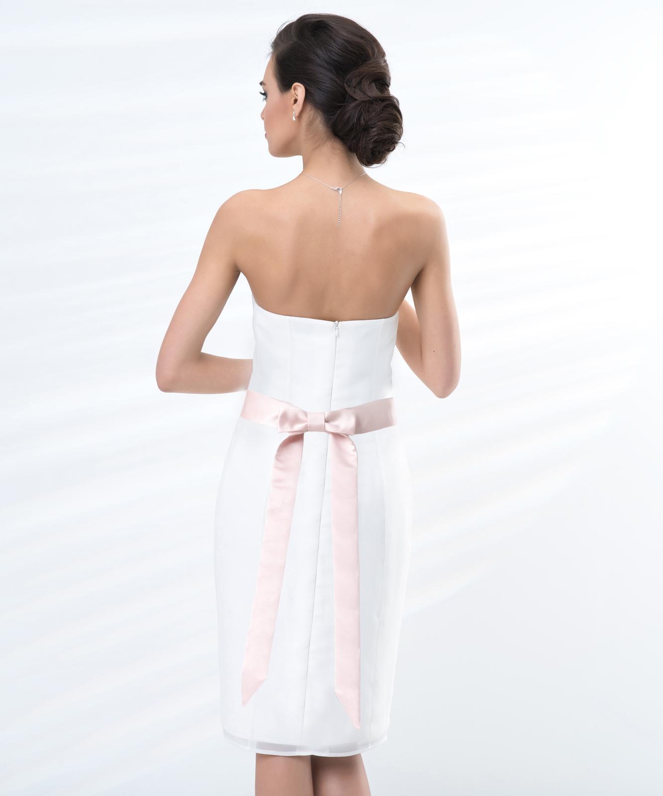 Ružový opasok na svadobné šaty - Obrázok č. 2