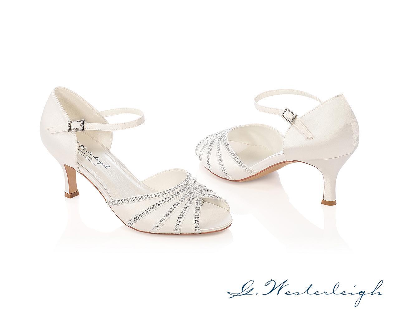 Svadobné topánky Jessica - Obrázok č. 1