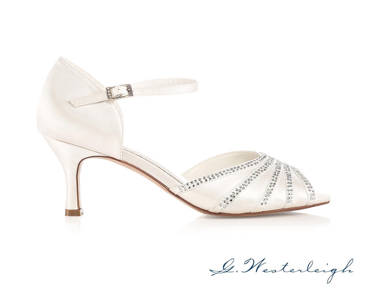 Svadobné topánky Jessica - Obrázok č. 2