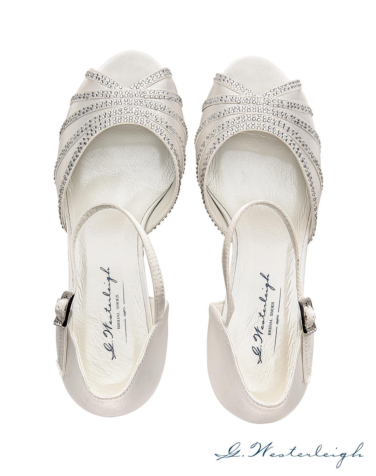 Svadobné topánky Jessica - Obrázok č. 3