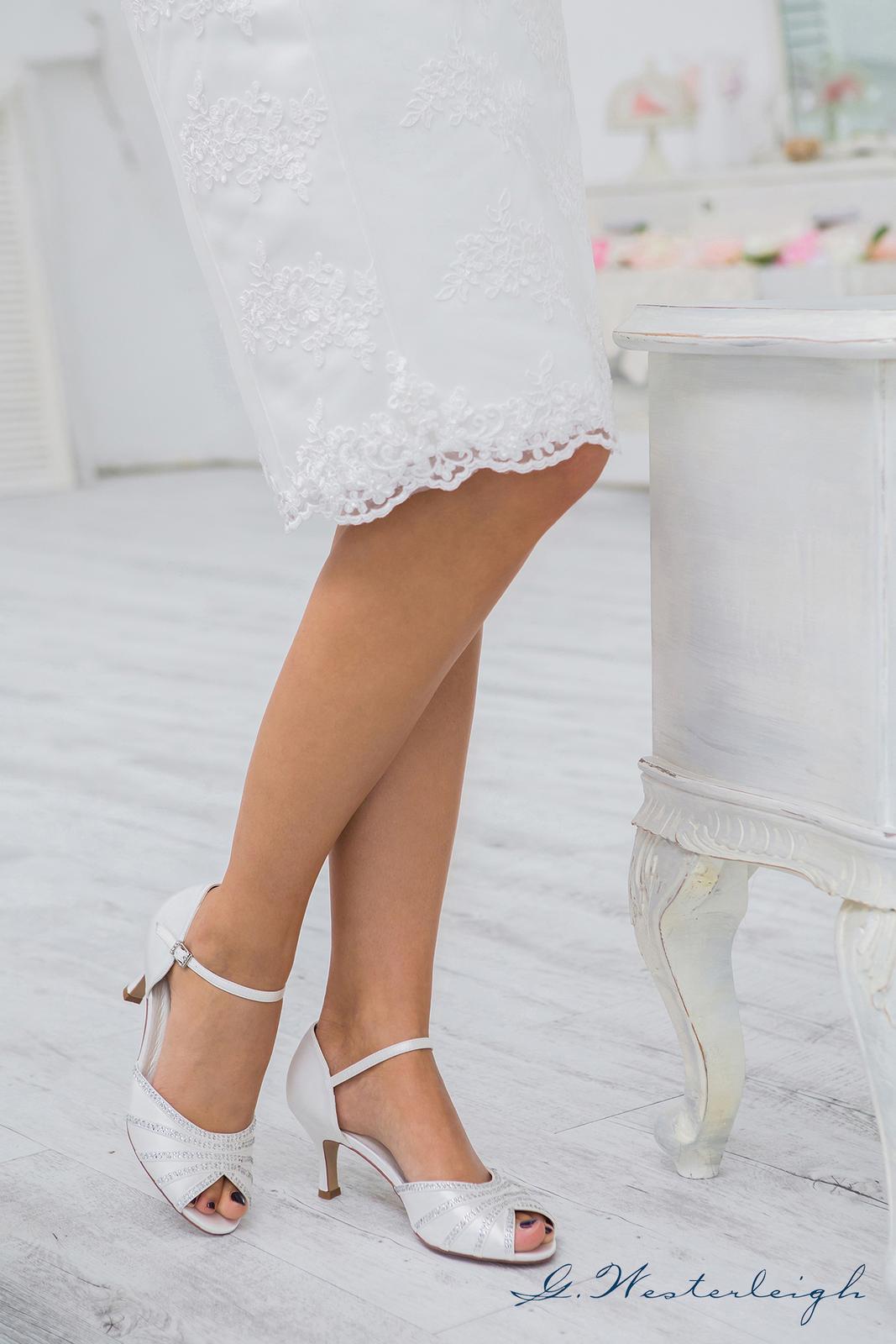 Svadobné topánky Jessica - Obrázok č. 4