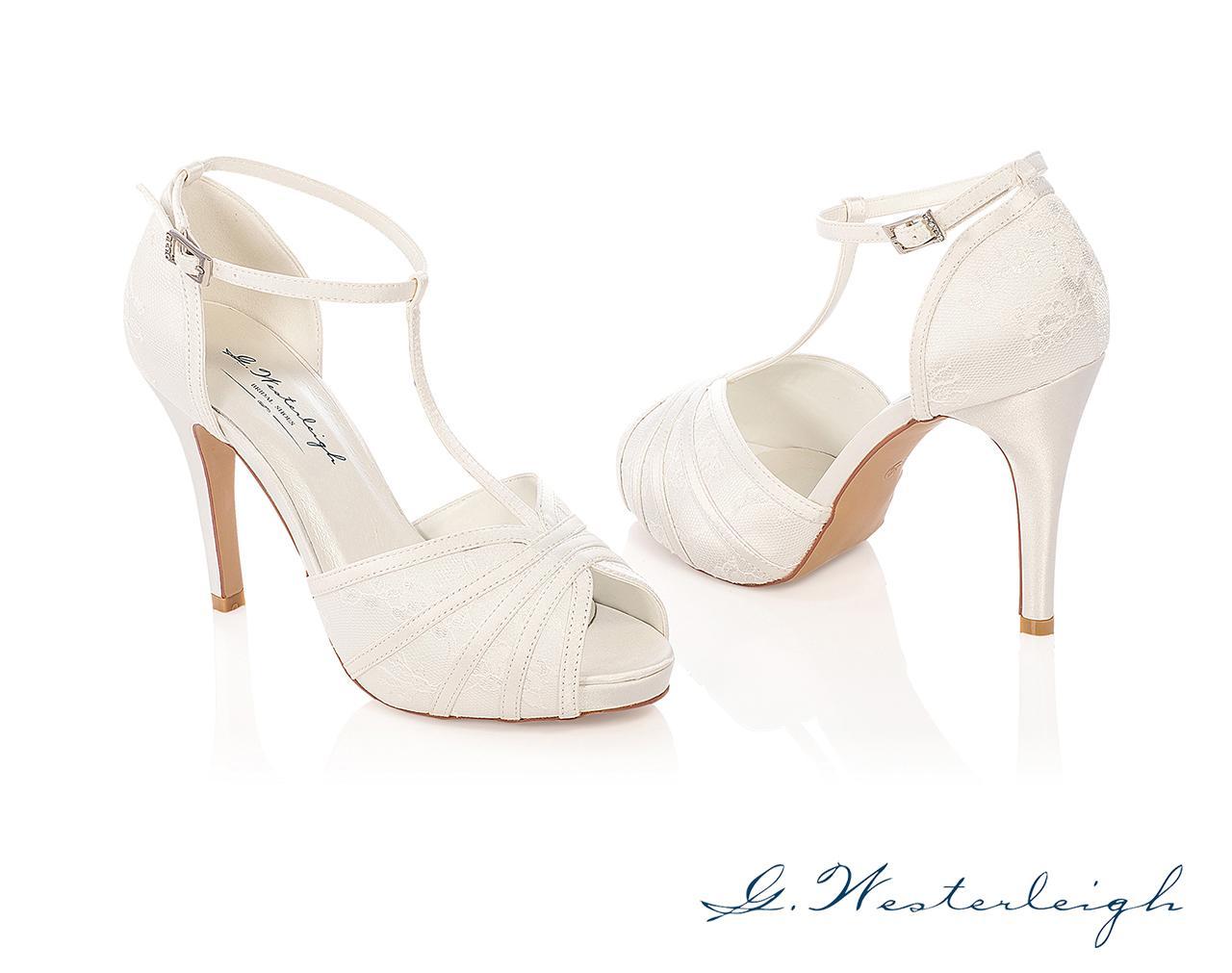 Svadobné topánky Scarlett - Obrázok č. 1