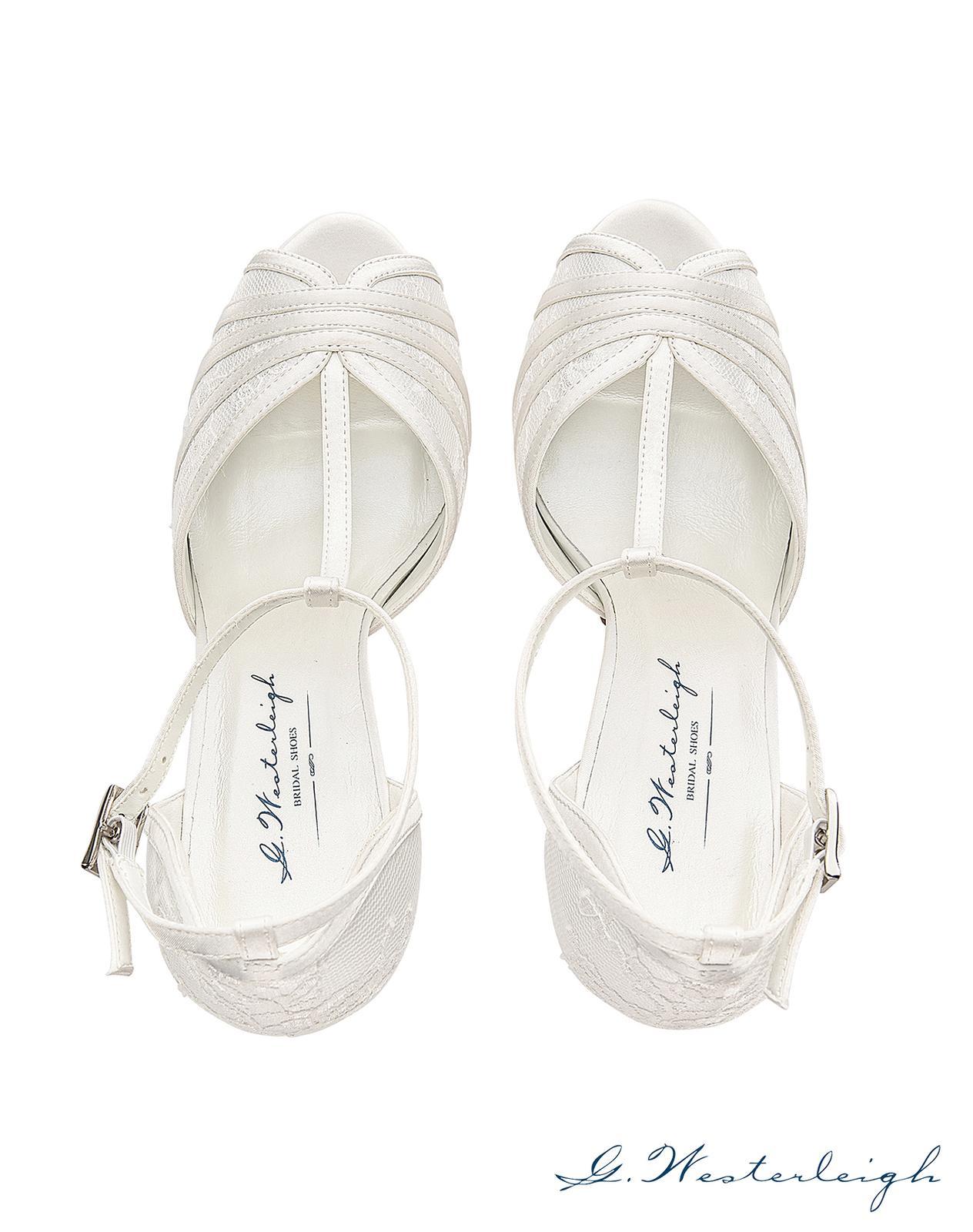 Svadobné topánky Scarlett - Obrázok č. 3