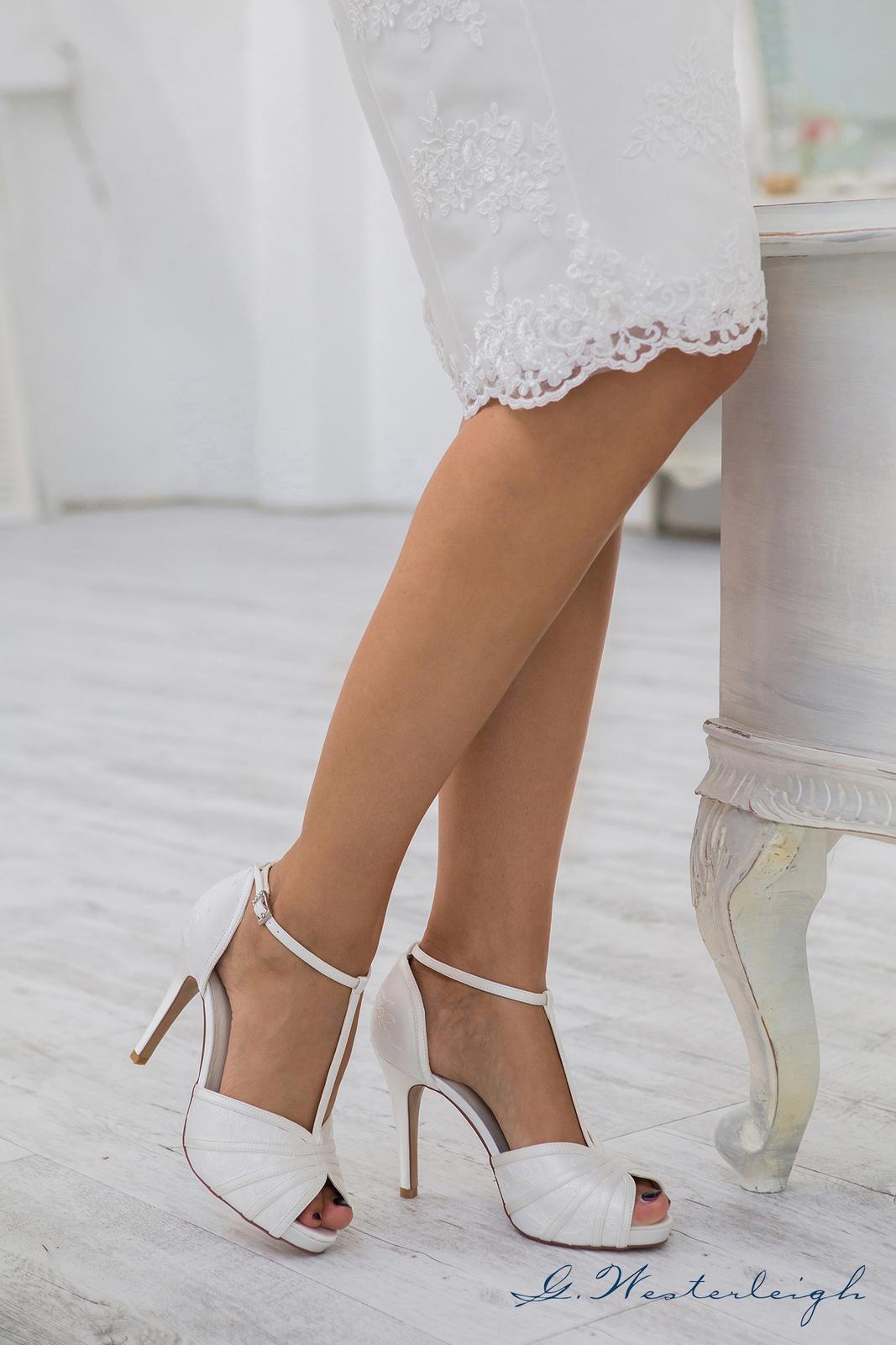 Svadobné topánky Scarlett - Obrázok č. 4