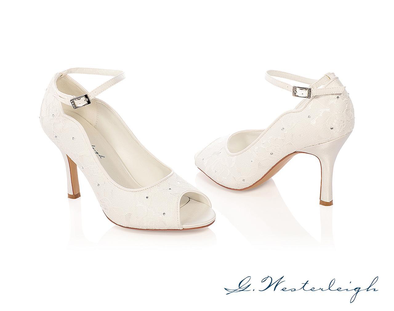Svadobné topánky Michelle - Obrázok č. 1
