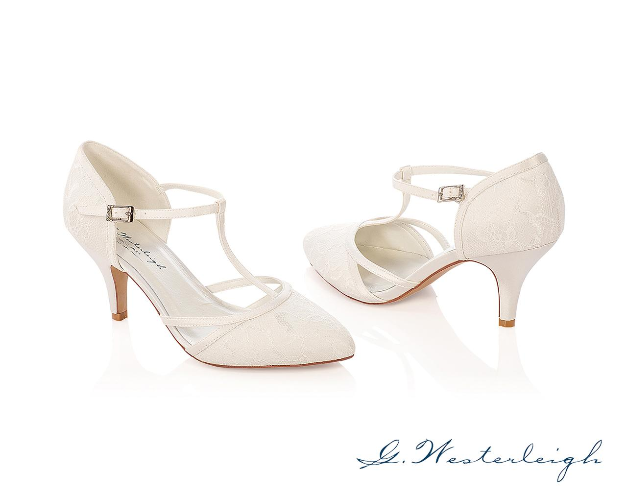 Svadobné topánky Jasmine - Obrázok č. 1
