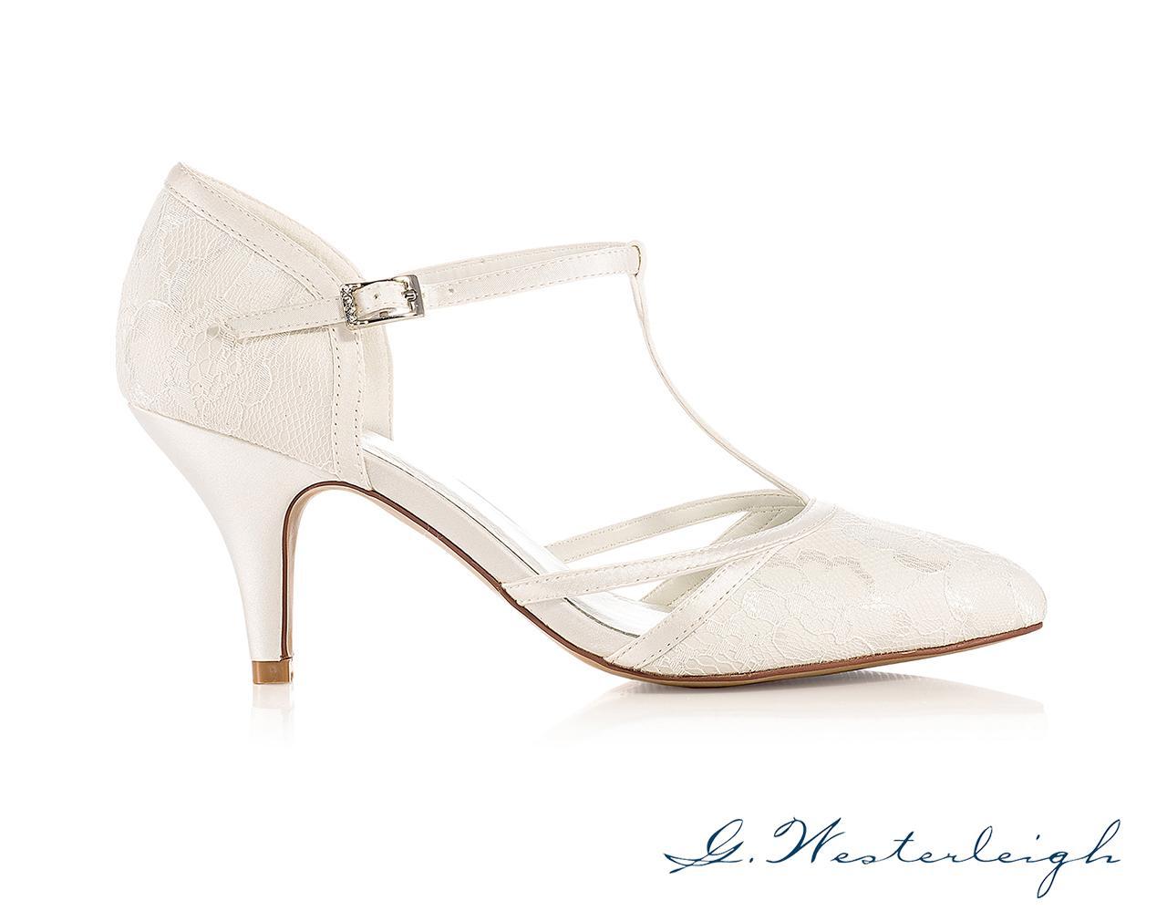 Svadobné topánky Jasmine - Obrázok č. 2