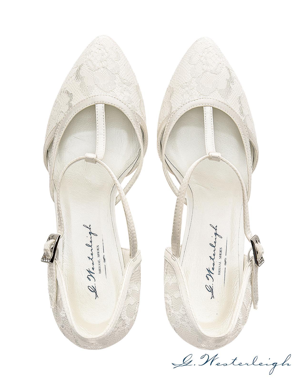 Svadobné topánky Jasmine - Obrázok č. 3