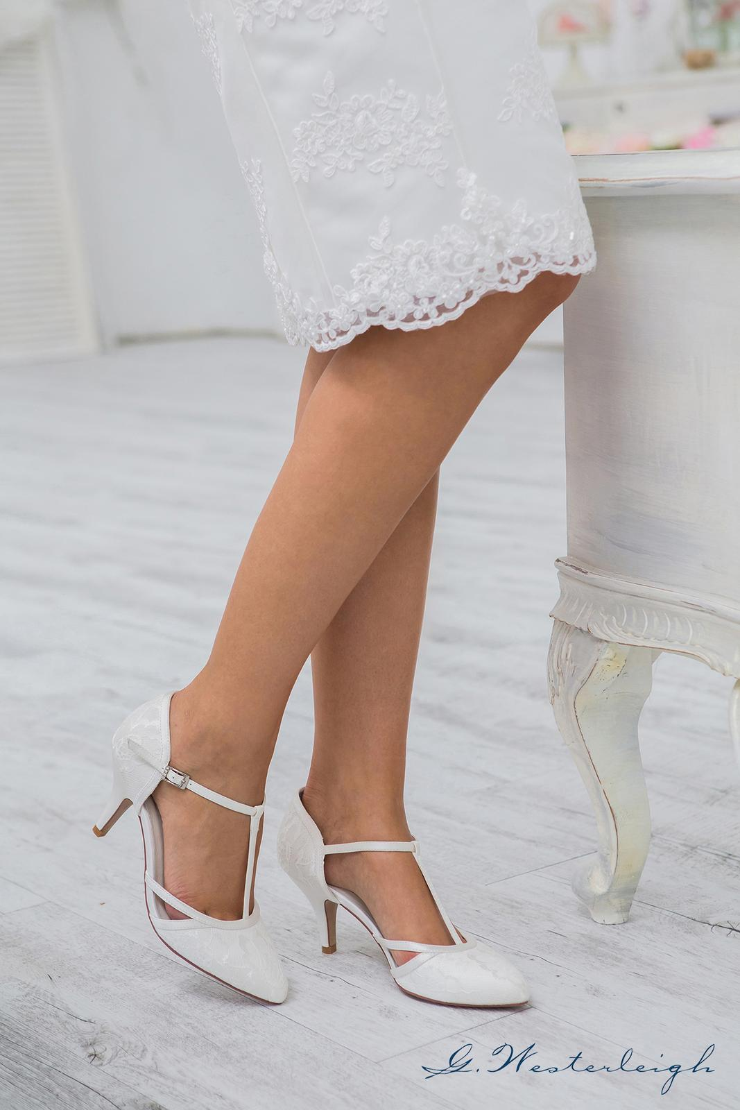 Svadobné topánky Jasmine - Obrázok č. 4