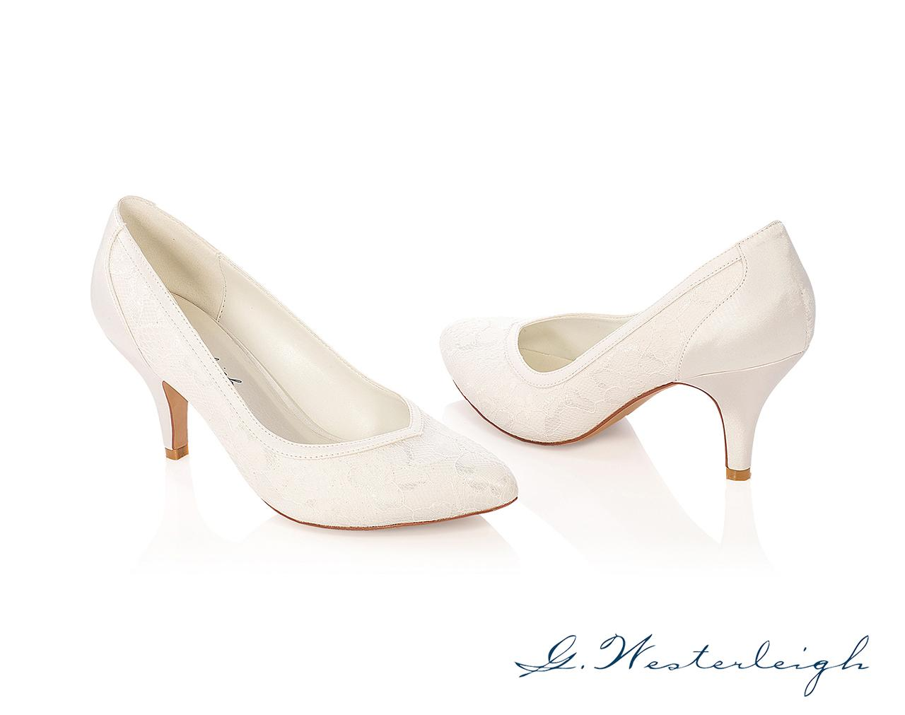 Svadobné topánky Grace - Obrázok č. 1