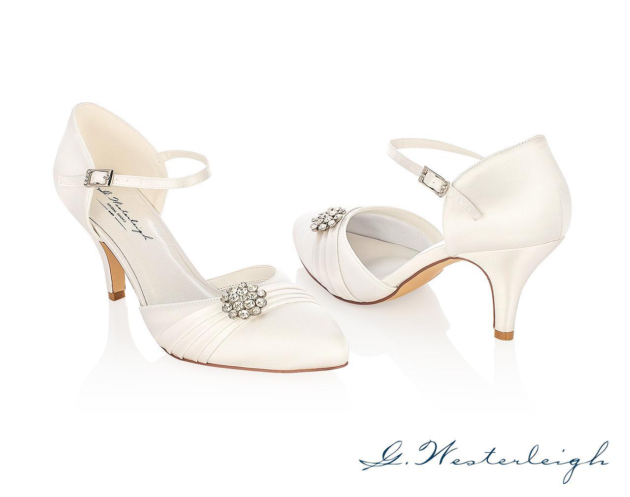 Svadobné topánky Abigail - Obrázok č. 1