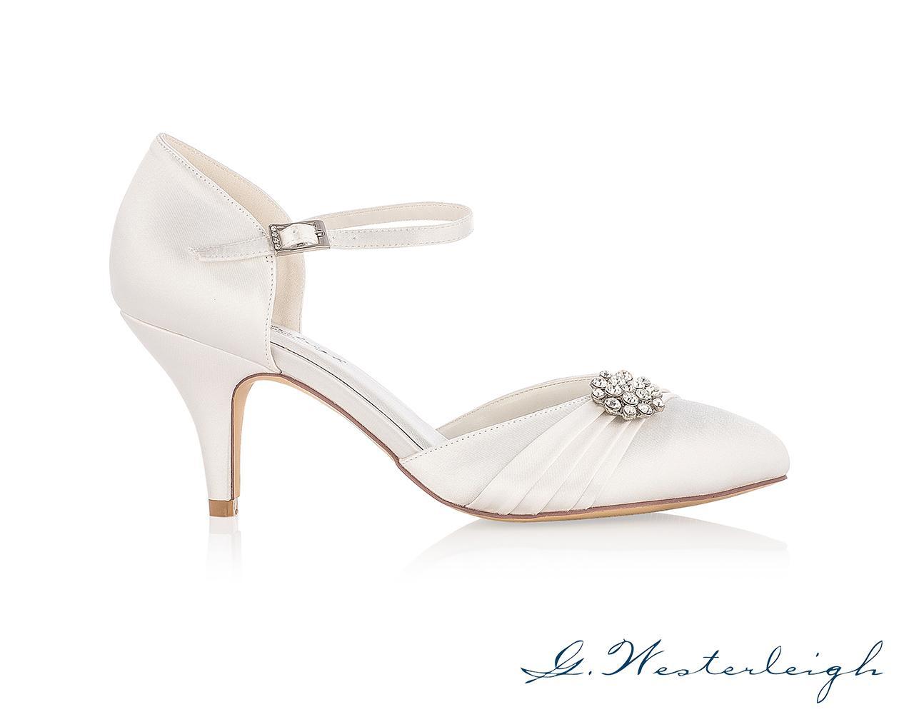 Svadobné topánky Abigail - Obrázok č. 2