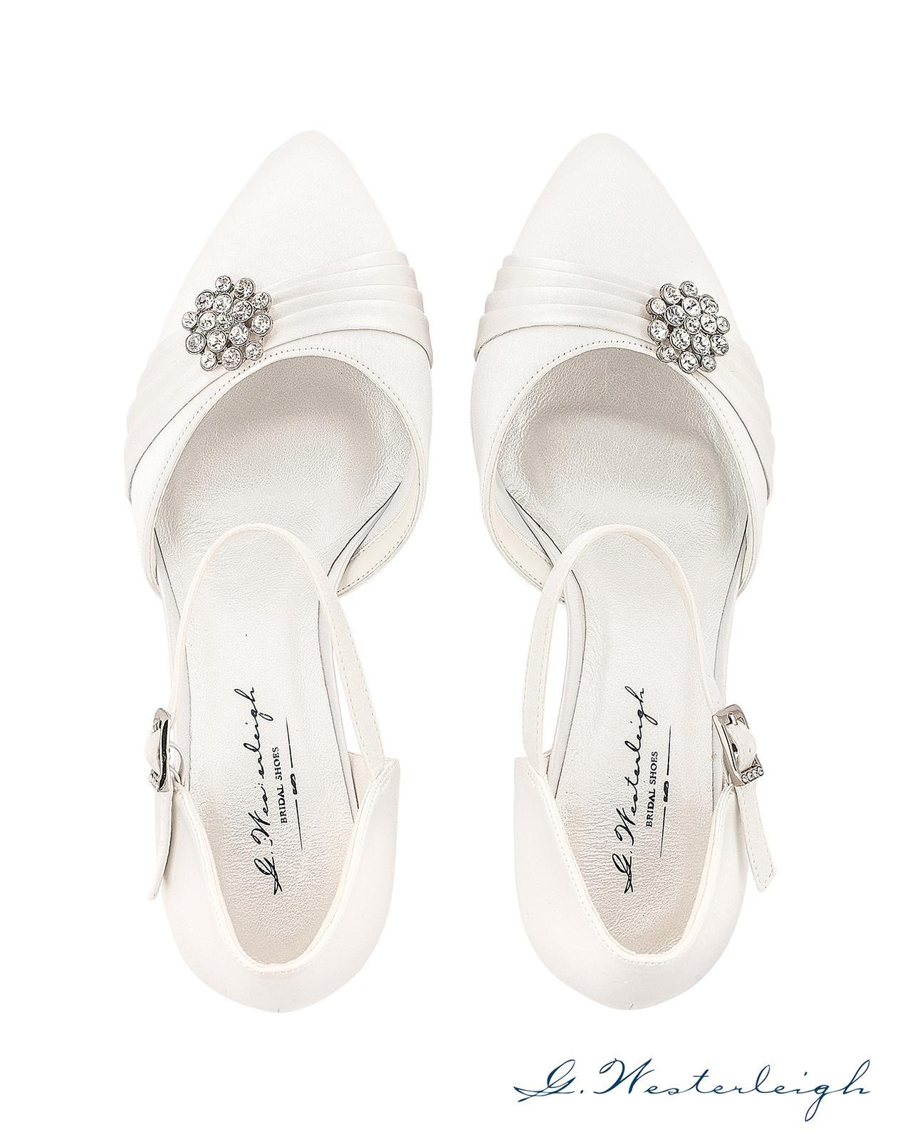 Svadobné topánky Abigail - Obrázok č. 3