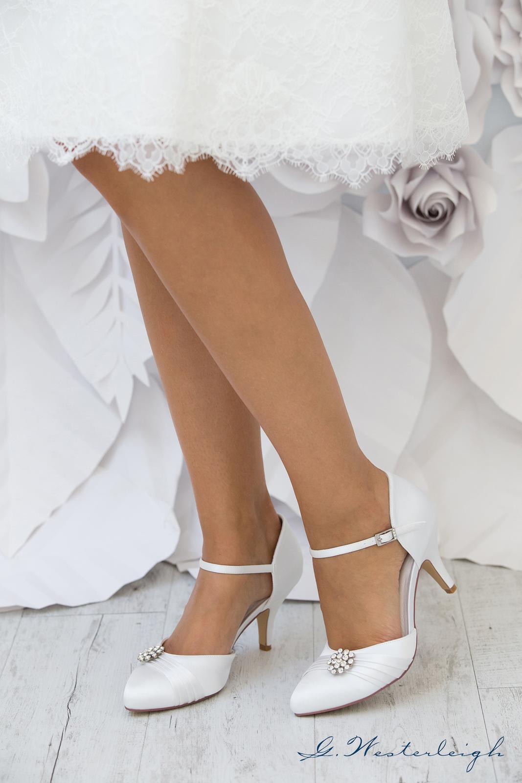 Svadobné topánky Abigail - Obrázok č. 4