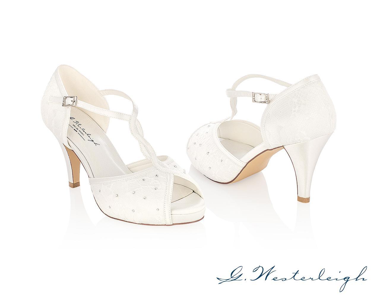 Svadobné topánky Betty - Obrázok č. 1