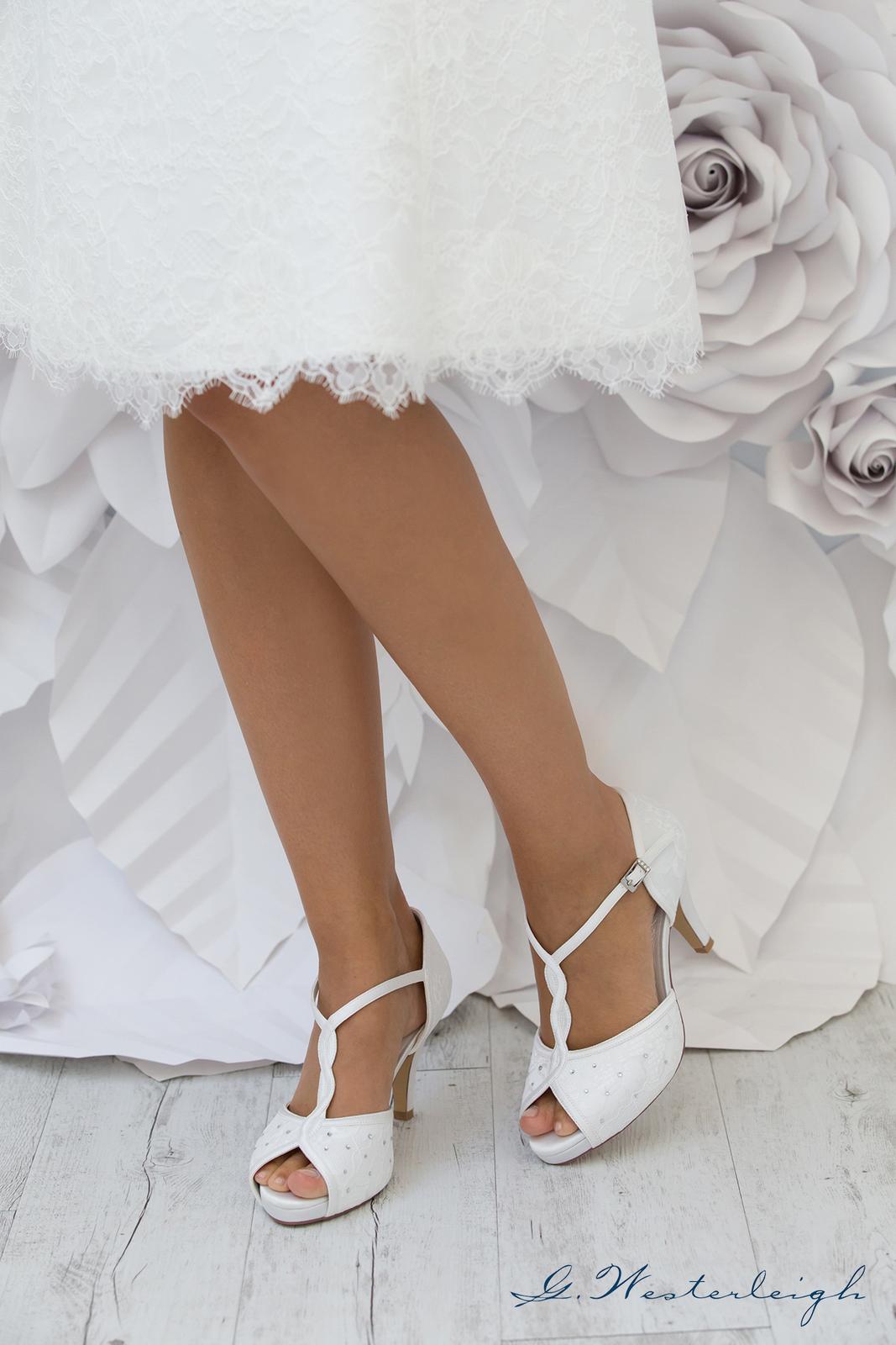 Svadobné topánky Betty - Obrázok č. 4
