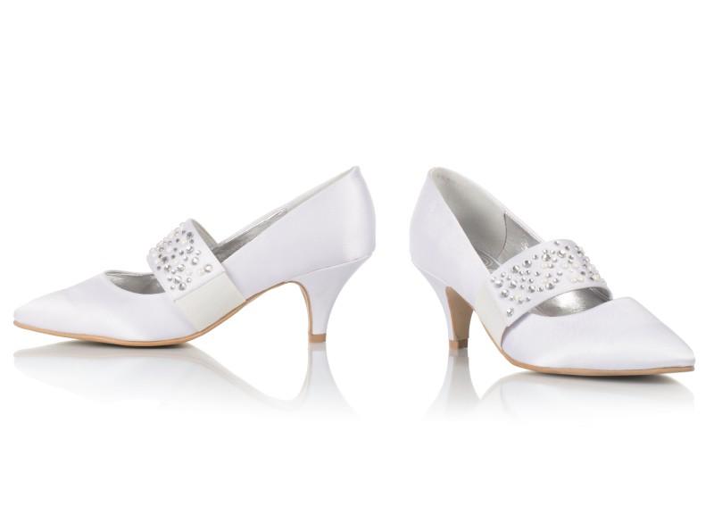 Svadobné topánky Nina - Obrázok č. 1