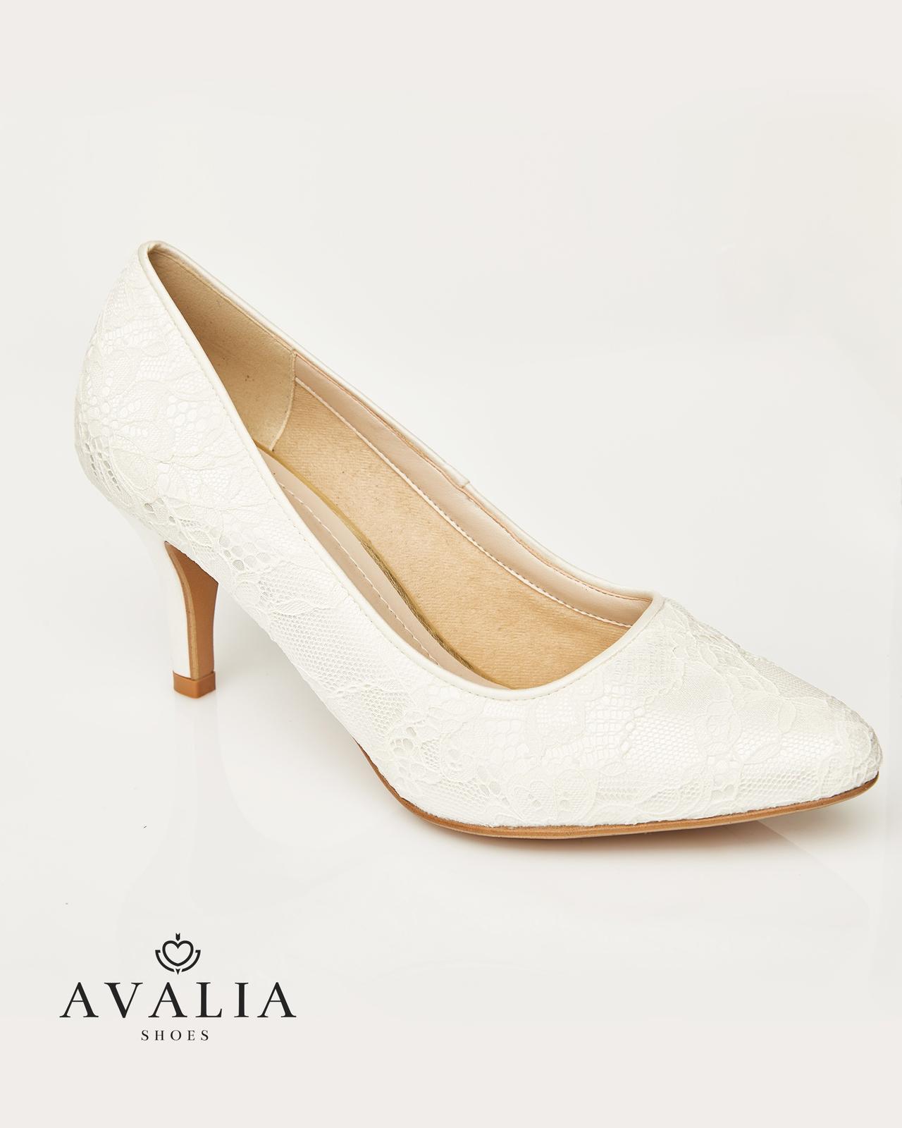 Svadobné topánky Demi - Obrázok č. 1