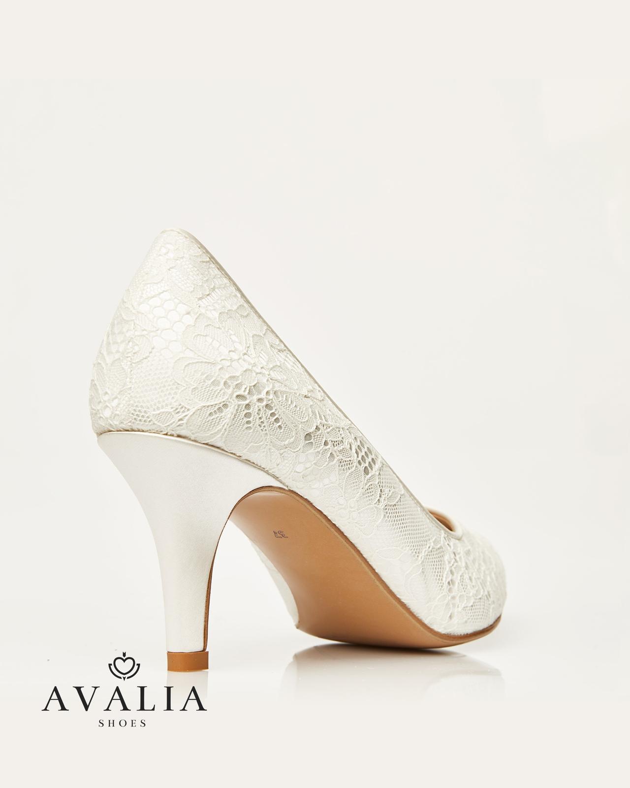 Svadobné topánky Demi - Obrázok č. 2