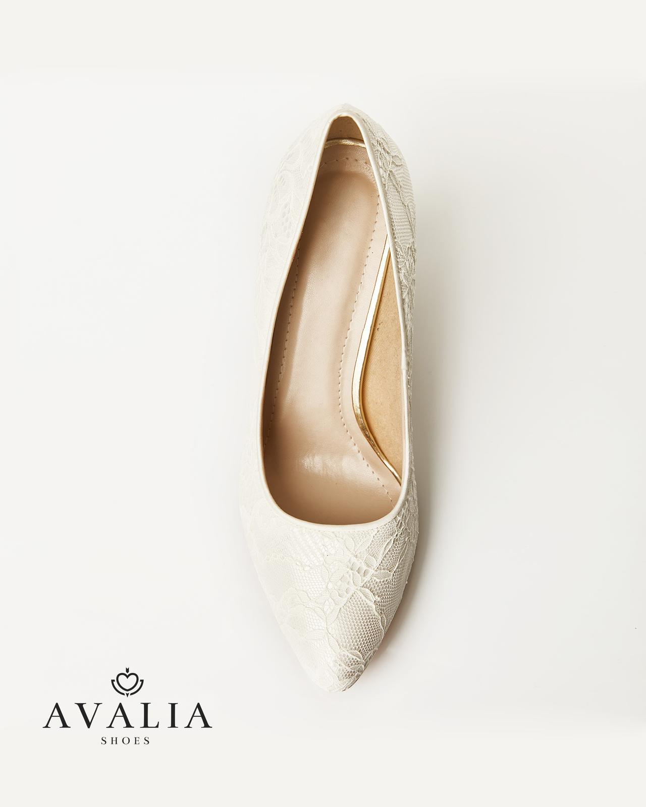 Svadobné topánky Demi - Obrázok č. 3